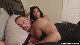 BANGBROS - Jade Jantzen's Step Dad Fucks Her Throat And Ass Hole