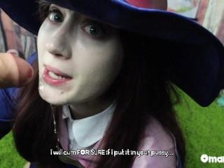 Peen magic akko rides diana little witch academia...