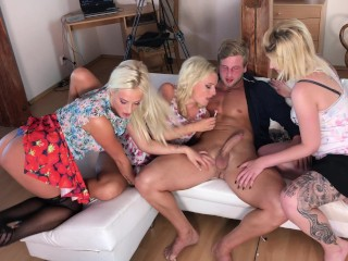 Blondes working on big bick jackie first to...