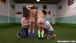 BANGBROS - Jada Stevens and Remy LaCroix Getting Their Big Asses Drilled