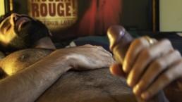 Sid Porntrait - Sid edging his massive cock with his precum