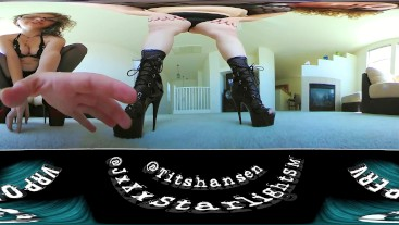 Dominated by Giantess Taboo VR 360 4k