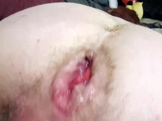 Fisting pussy with big wet pussy...
