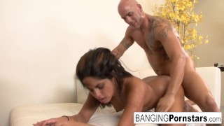 Jasmine Blaze takes it from behind hard