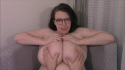 Date is Embarrassed of Her Massive Jugs
