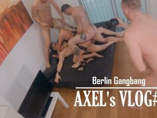 This is how I make videos on Pornhub - Axel's VLOG#1  Berlin Gangbang  BTS