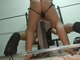 Strap in gym