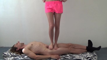 Barefoot Trampling & Jumping & Head Standing & Cock Crush