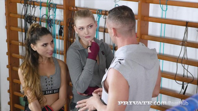 Private.com -Boxers Baby Nicols & Hannah Vivienne Share Cock 17