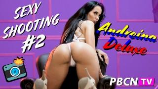 sessão de fotos pornstar colombiana Andreina Deluxe big ass latina