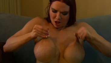 Manhandling My Big Fake Tits