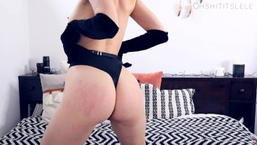 Velvet. Spank me, spank yourself, and cum for me, Daddy.ENG+FR JOI.Lele O