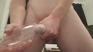 Can't Wait Til You Get Home - Cumming In Champagne Glass