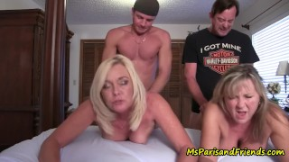 Rough Bisexual Orgy