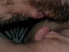 Amazing Sensual Close Up Pussy Licking - MiniBlondie