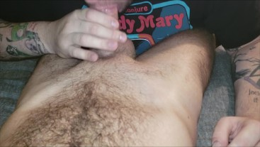 Hung Thick Dick Hairy College Otter Gets Fingered & Sucked Nice Cumshot