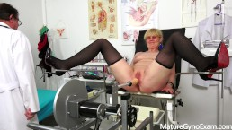 Mature woman Berrenica full gyno exam - MatureGynoExam.com
