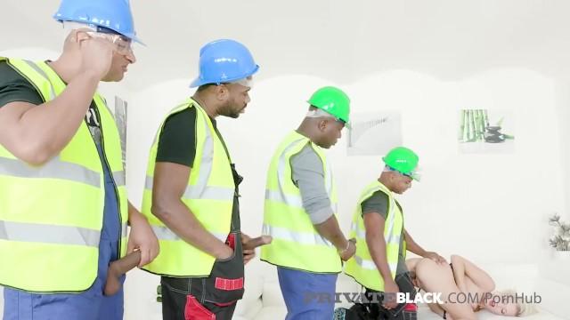 PrivateBlack - Super Slut Ria Sunn Bangs 4 Chocolate Cocks! 9