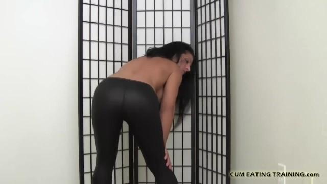 CEI Femdom And POV Cum Feeding Porn 5