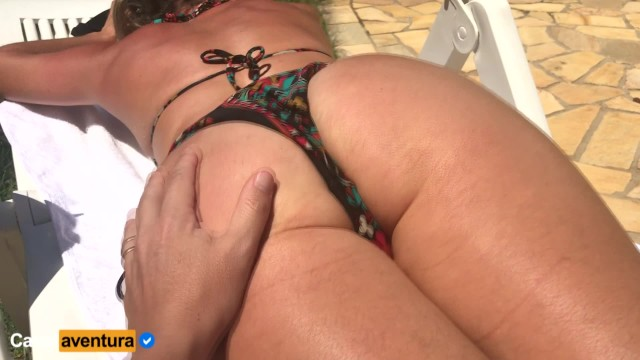 Nude sun bathing in mexico Real amateur - milf sun bath and anal fuck