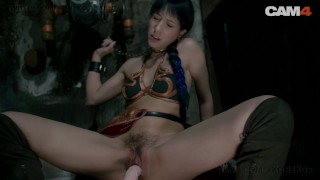 Slave Leia Chained and Fucked by Her Droid