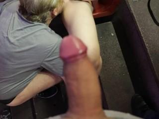 Masturbate in public
