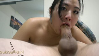 World's BEST deep throat girl getting throatfucked
