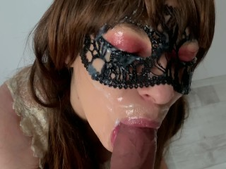 Cum on my face! 4k ultra HD