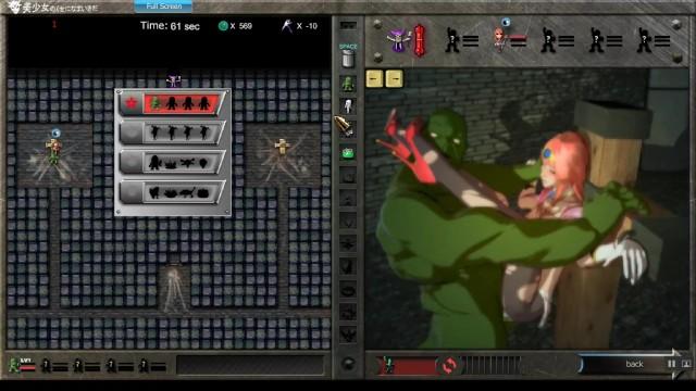 Tamil heroine sex Pwmc hentai game lets play ep.3 heroine dungeon corruption