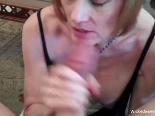 Melanie Wants The Cum NOW Please