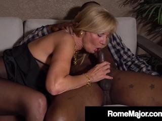 Hot Grandma Presley St Claire Fucks Rome Major