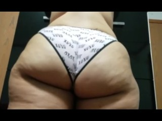 Thick shows off her amazing for me...