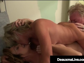Cougar Deauxma Shares Husband With Cute Blonde Payton Hall