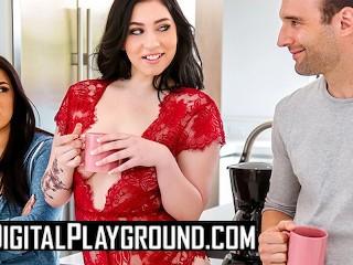 Digital Playground - Curvy bff Amilia Onyx makes men cheat