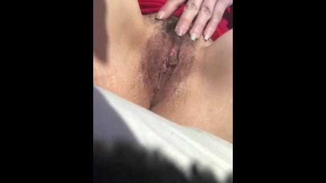 Hairy dark pussy 8