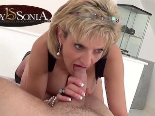 Sensual handjob...