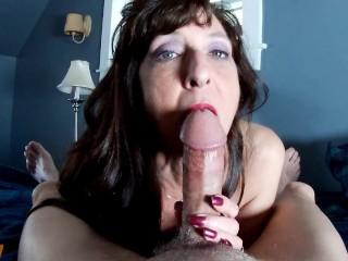 Sexy Milf Marie Blowjob Amazing CIM