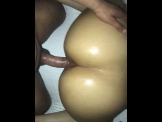 Oiled let me hit from the back...