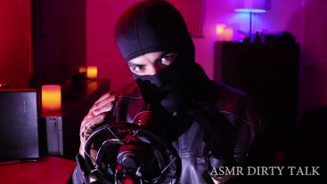 DOMINATING Leather Fetish Burglar Coming Into Your Home To Make You A Slave