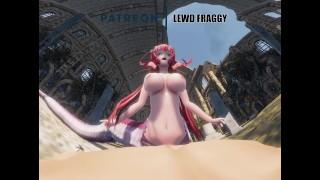 Monster Musume - Miia Riding it hard [5K VR HENTAI]
