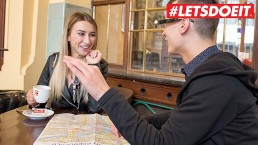 LETSDOEIT – Katrin Tequila Meets a Big Cock Roommate In Prague