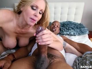 BANGBROS - Sexy MILF Julia Ann Gets Her Big Black Cock Craving Satisfied