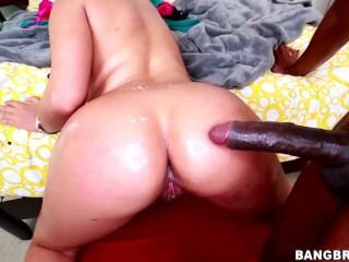 BANGBROS - Blonde PAWG Bridgette B Takes Big Black Cock Like A Champ