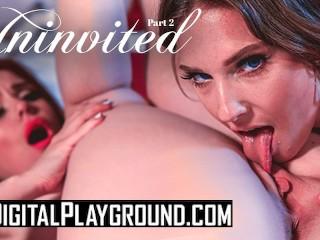 DigitalPlayground- Ginger lesbian teen sits on brunettes face till she cums