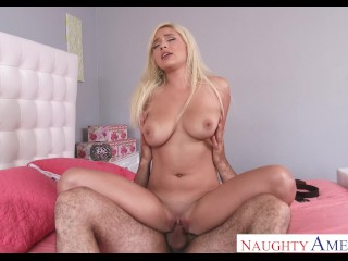 Naughty america kylie page fucking tits...