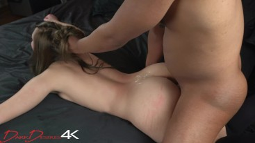 Hot Fit Teen Orgasms 6 Times While BBC Dominates Her On Bed!! DarkDesires4K