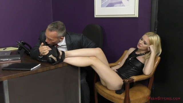 Fetish shop london review Bitchy secretary turns the boss into her slave - kennedy kressler