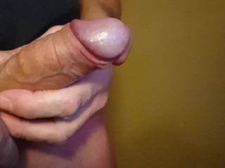 deep cock sounding, close up cumshot, shaved cock