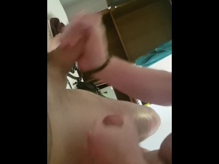 One dick one mouth two cum shots