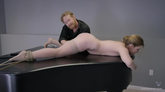 Unuasual bondage Bdsm sex movie - very unusual sex on a piano - full scene